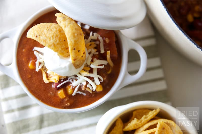 Taco Soup // Tried and Tasty