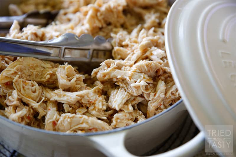 Cafe Rio Shredded Chicken Nutrition