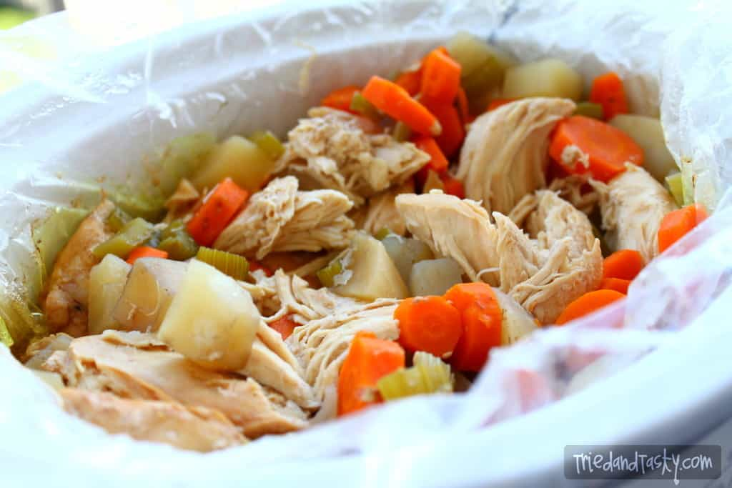 Crock Pot Chicken Stew // Tried and Tasty