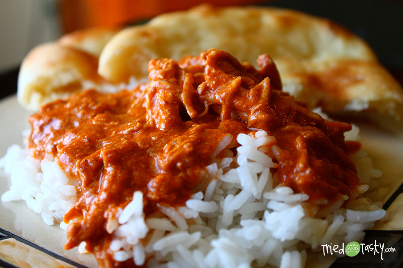 Chicken Tikka Masala // You haven't lived until you've tried Indian food! My favorite dish by far is Chicken Tikka Masala. You've got to add this to your menu and make it immediately, you won't be disappointed! | Tried and Tasty