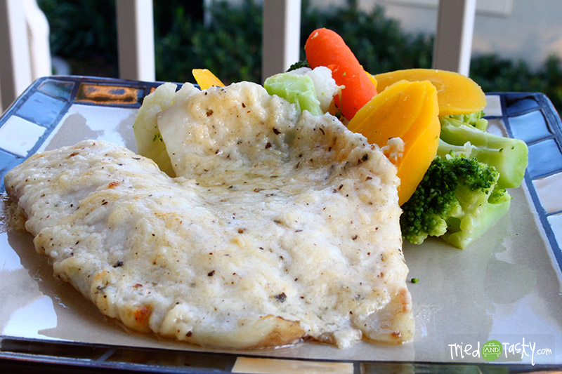 Broiled Tilapia Parmesan - Tried and Tasty