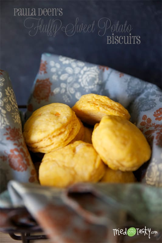 Sweet Potato Biscuits // Tried and Tasty