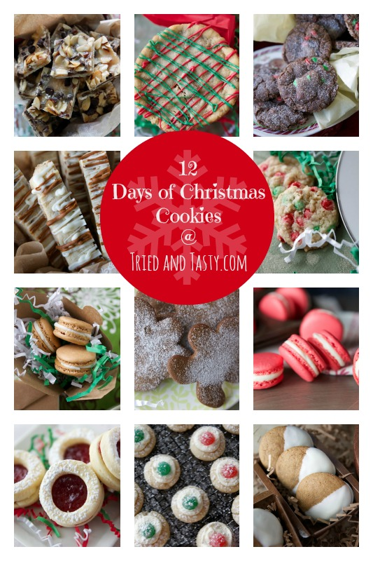 12 Days Of Christmas Cookies // TriedandTasty