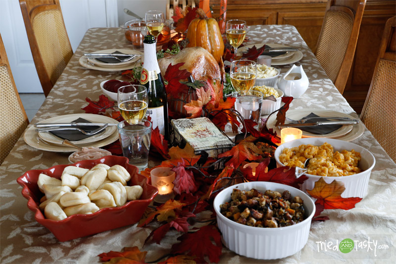 A Tried and Tasty Thanksgiving // TriedandTasty