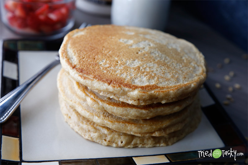 100% Whole Wheat Pancakes // Tried and Tasty