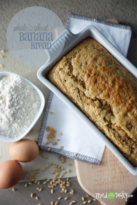 Whole Wheat Banana Bread // Tried and Tasty