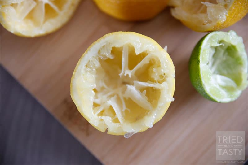 Lemonade Cleanse // A delicious and refreshing lemonade designed to help cleanse your body. | Tried and Tasty