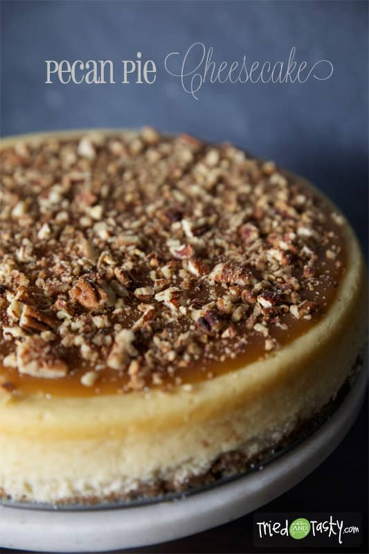 Pecan Pie Cheesecake // Tried and Tasty