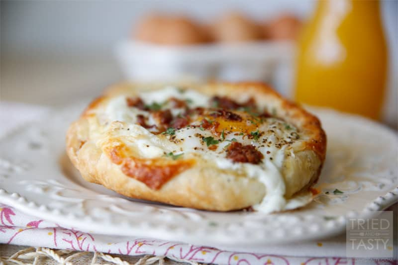 Quick & Easy Bacon, Egg & Cheese Tart // Tried and Tasty