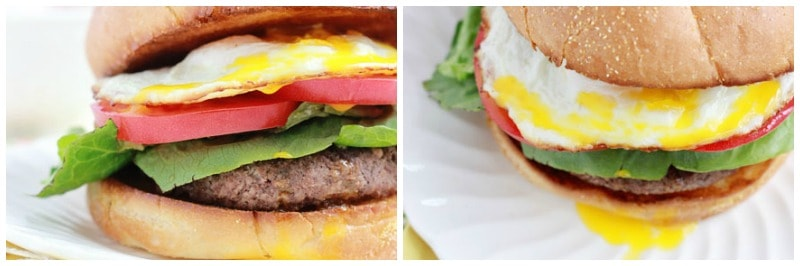 One Sweet Appetite Breakfast Burger