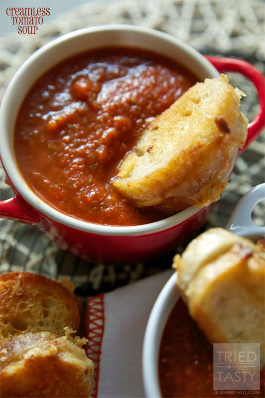 Creamless Tomato Soup // Tried and Tasty