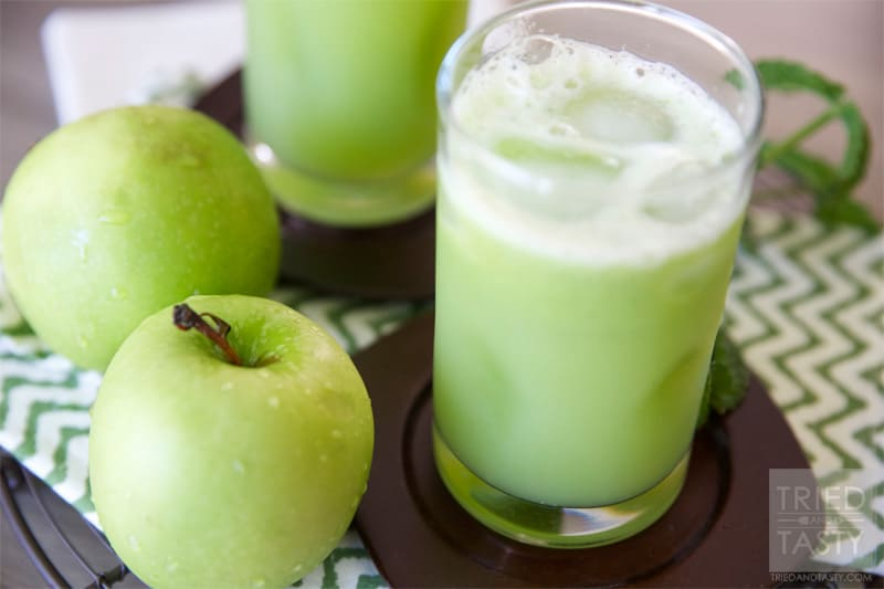 Th Green Appl Energizer // Tried and Tasty