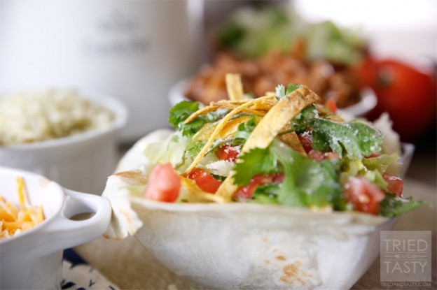 Copycat Cafe Rio Salad // Tried and Tasty
