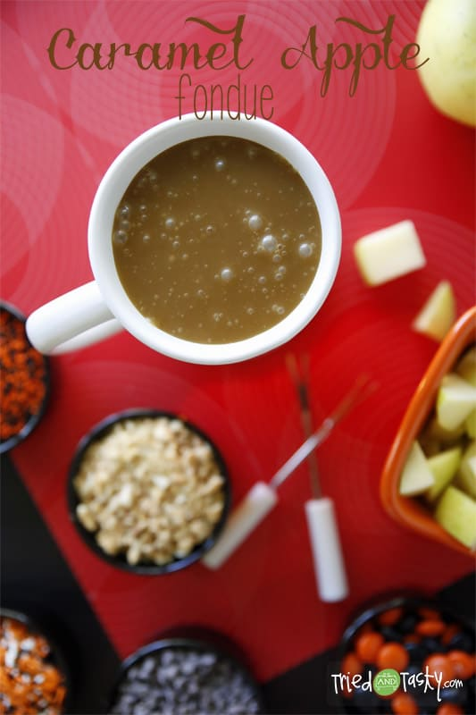 Caramel Apple Fondue // Tried and Tasty