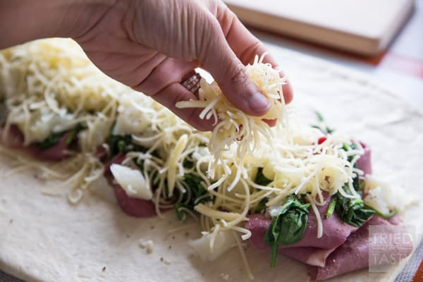 Rhodes Corned Beef Braid // Tried and Tasty