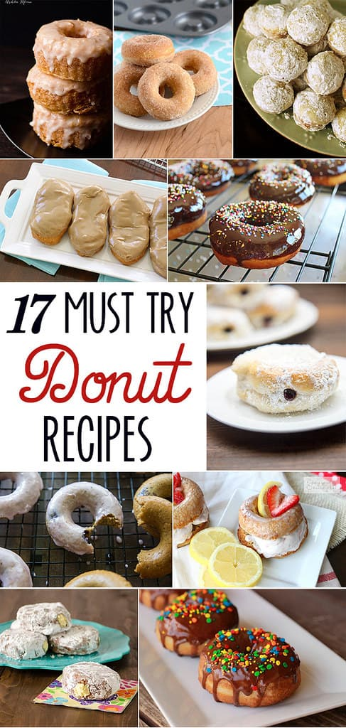 17 Must Try Donut Recipes // Tried and Tasty