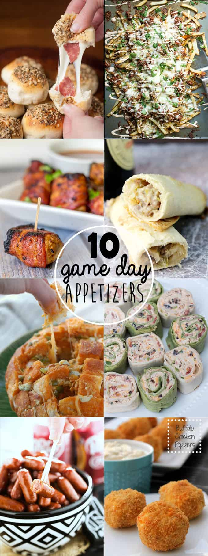 10 Game Day Appetizers For The Win // Tried and Tasty