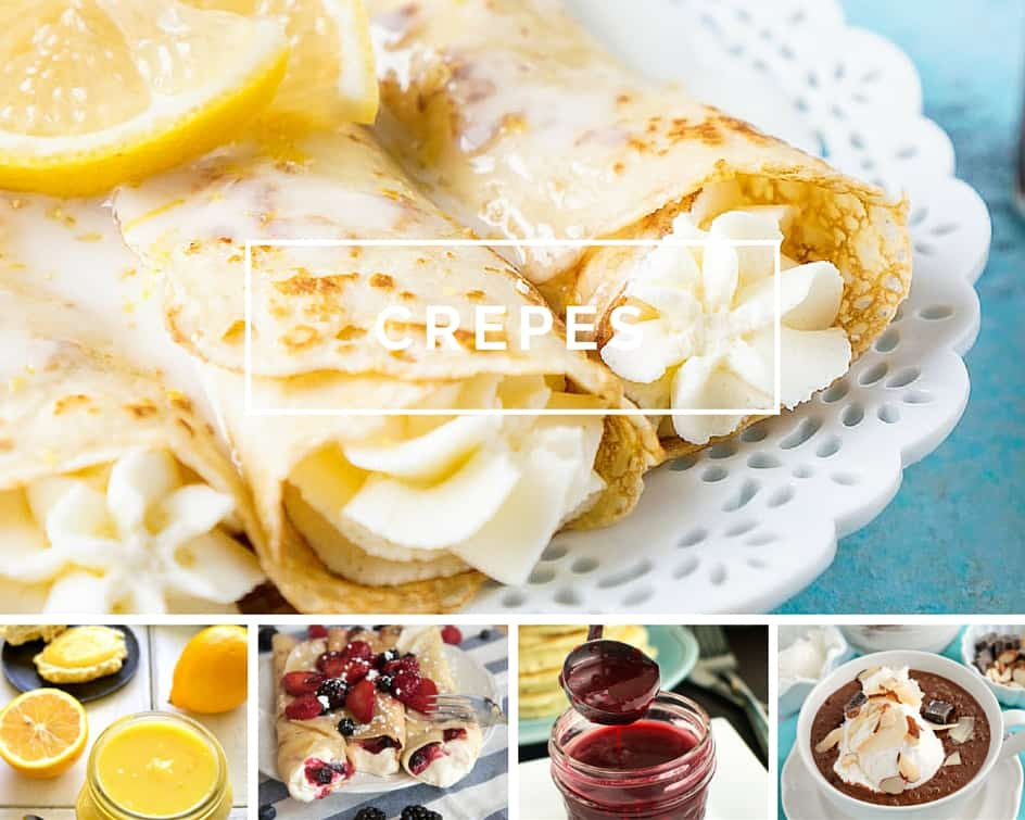 Virtual Waffle/Crepe Bar // 10 recipes that will help you create the perfect breakfast or brunch experience! | Need inspiration on how to host a delicious breakfast or brunch? These 10 recipes are not only tasty, they are ALL easily made in a blender! Make your grocery list now for a showstopper morning.