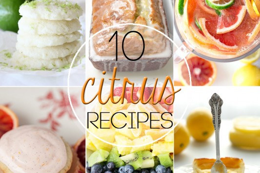 10 Citrus Recipes // Tried and Tasty