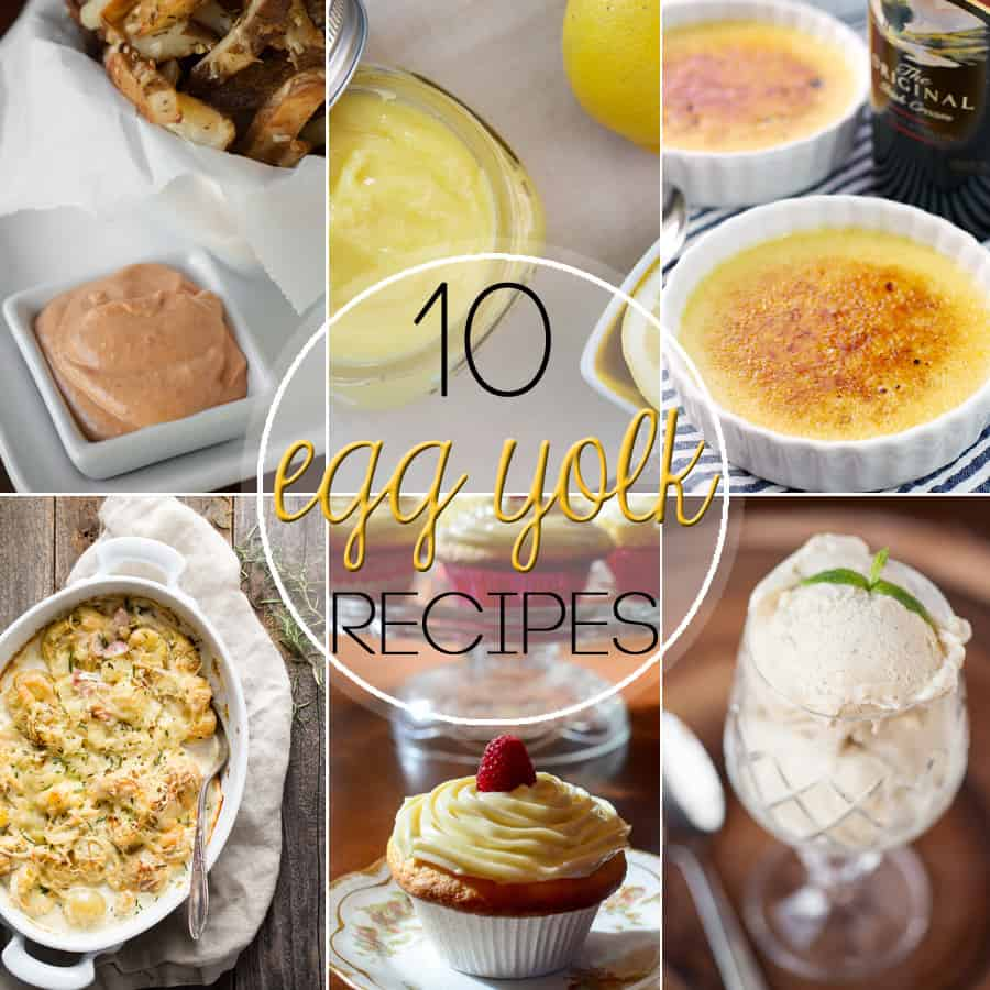 10 Recipes To Use Up Egg Yolks