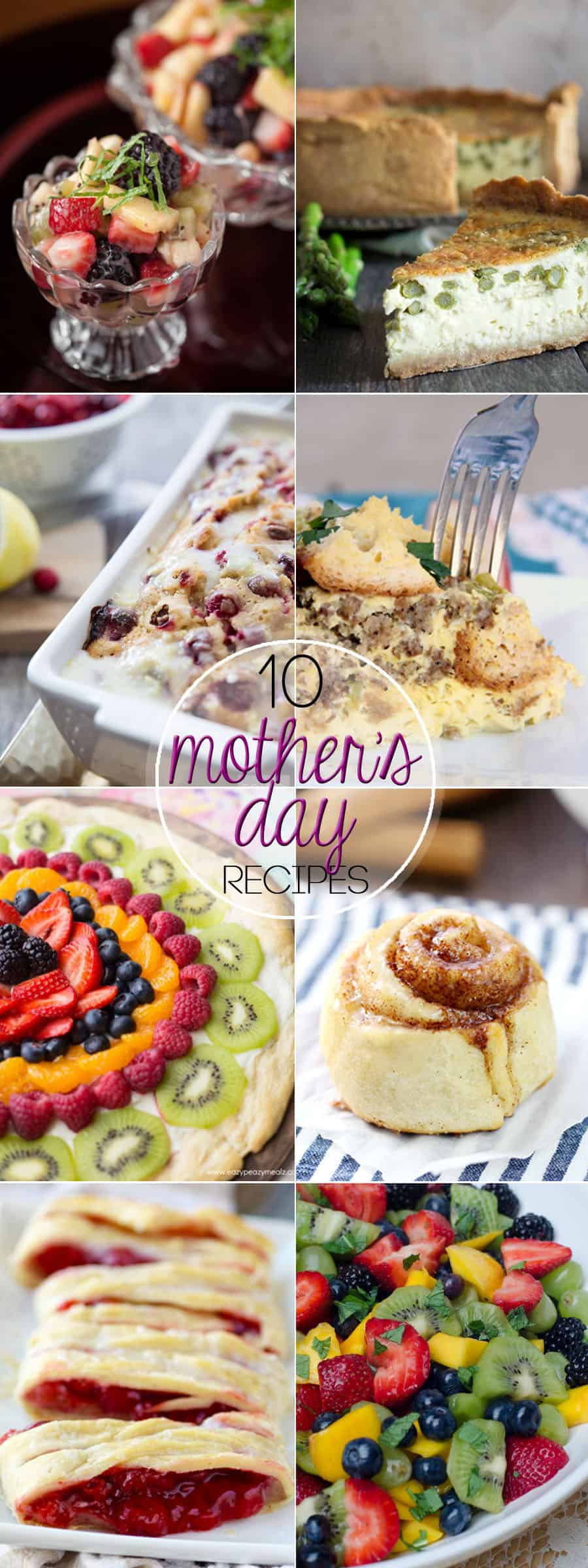 10 Recipes to Make Mom Smile on Mother's Day